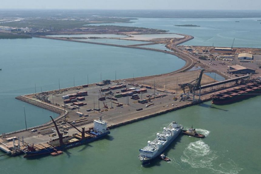 The port of Darwin lies close to a base through which US Marines have been rotating for the past three years. Its lease to a Chinese company with ties to China's military has sparked security fears.