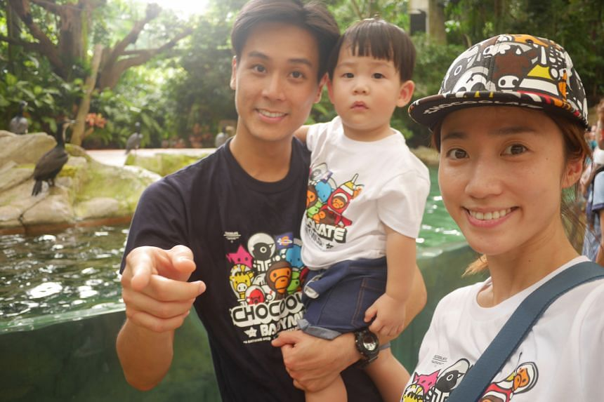 Andie Chen enjoys working with his wife Kate Pang and son Aden on the parenting- themed YouTube channel called Kandie Network.