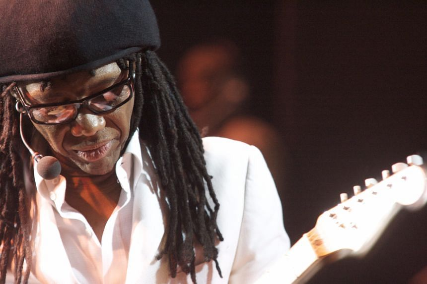 Hit-maker Nile Rodgers plays on every record that he co-produces with other artists.