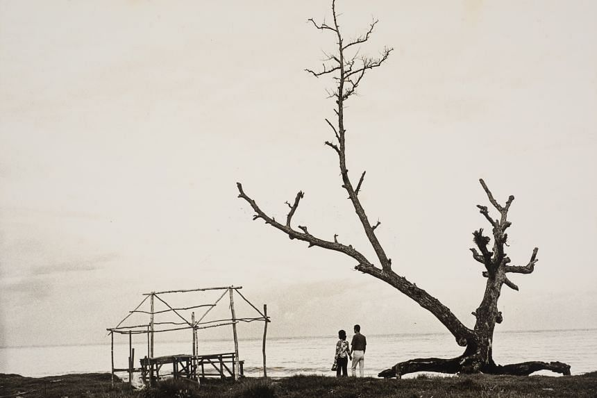 SOLITUDE, 1960 to 1970: By Chua Tiag Ming, photograph, 22.5cm by 29.9cm