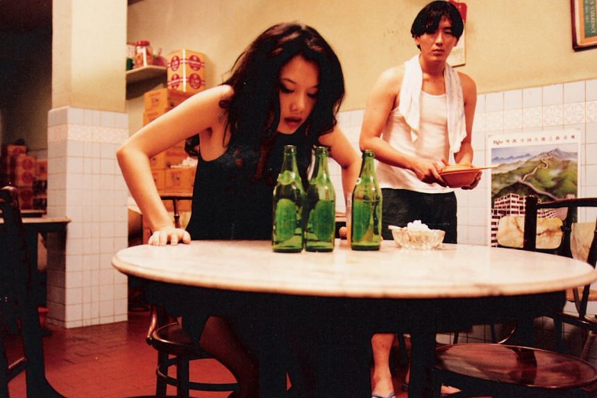 Michelle Goh and Joe Ng in Mee Pok Man.
