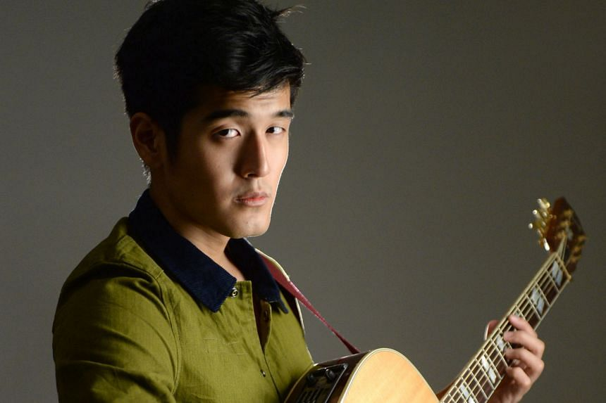 Local singer Nathan Hartono plays the musician boyfriend of the protagonist in Halfworlds.