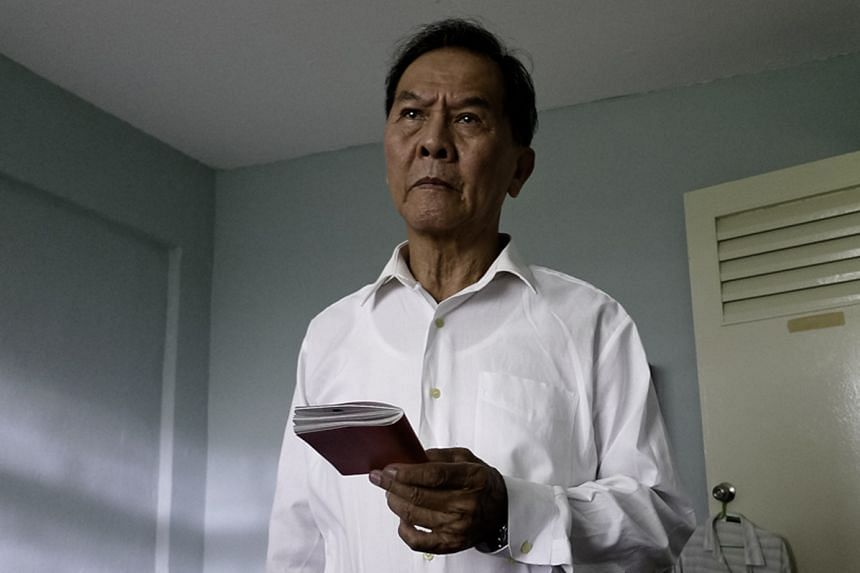 The Return, by Green Zeng and June Chua (both left), is a film about a political detainee (Chen Tian Xiang, above) and his reunion with his children after being released from prison.