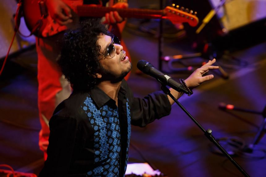 Papon channels Bollywood with his shades.