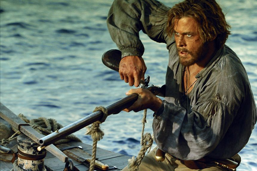 Actors Luke Bracey (in Point Break); Chris Hemsworth (above, in In The Heart Of The Sea); and Emma Watson and Ethan Hawke (in Regression) struggle to lift three sinking films.