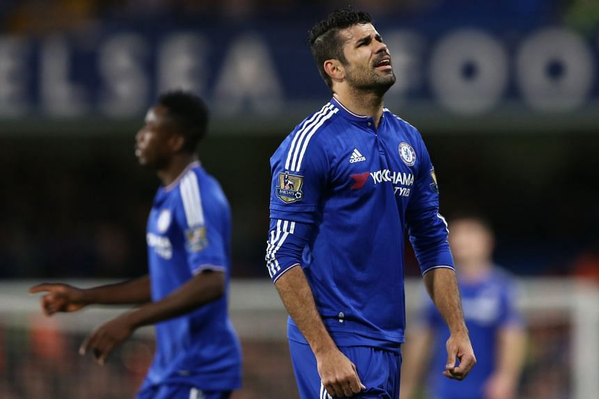 Diego Costa started on the bench again and came on at half-time against Bournemouth. Chelsea are in 14th place after the 0-1 loss to the newly-promoted team and are just three points clear of the relegation zone. The Blues have now tasted defeat in e