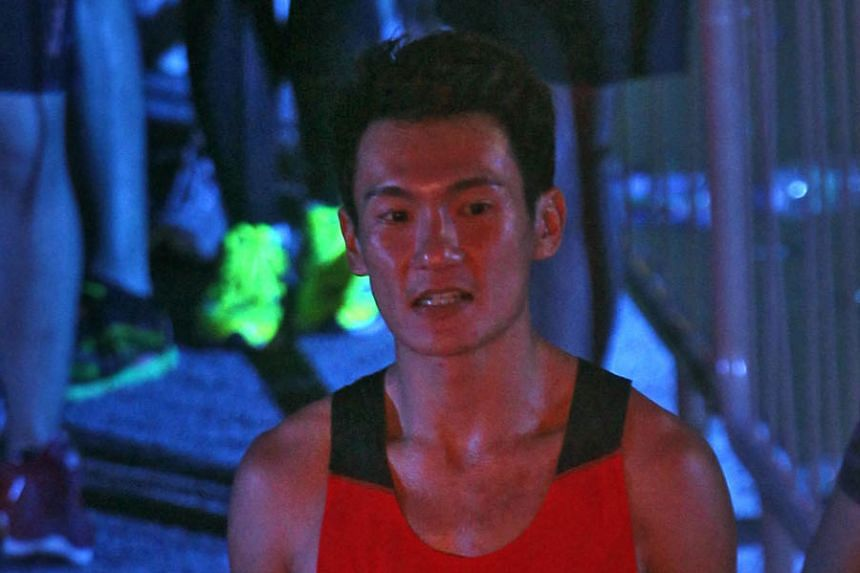 """Zac Leow, who finished second in the 1,500m T37 yesterday, had to learn how to """"sit up, walk and everything"""" after being told he had lost mobility."""