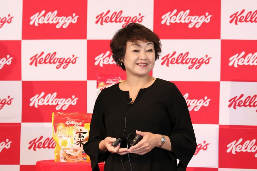 Ms Yukari Inoue, Kellogg's managing director for Japan and Korea, attributed her sense of drive to her younger days at an all-girls' school where she was appointed to student leadership roles.
