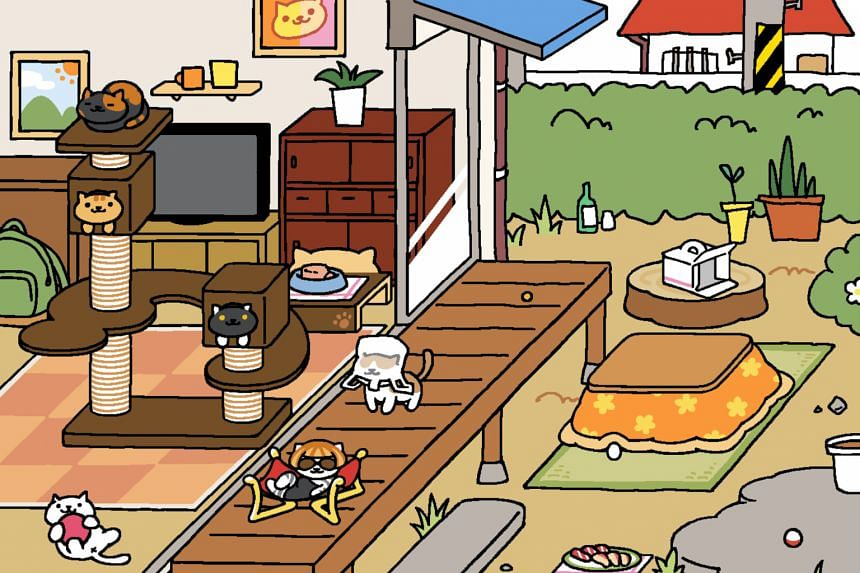 Hit Japanese app Neko Atsume: Kitty Collector is now available in English.