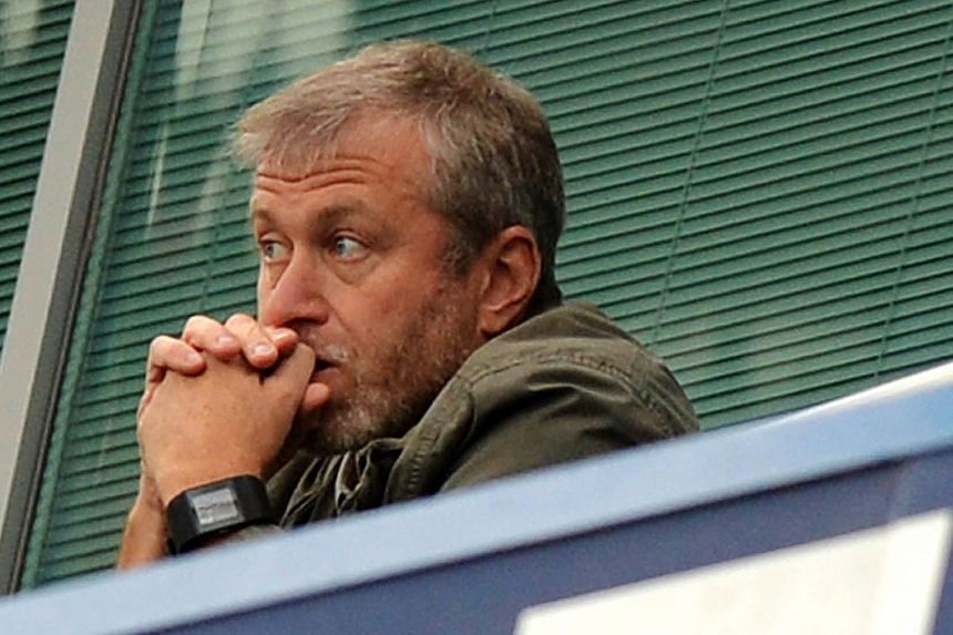 """Beyond his usual inscrutable face, close associates of Abramovich describe the Russian as """"quiet, loyal, calm & measured"""". PHOTO: AGENCE FRANCE-PRESSE"""