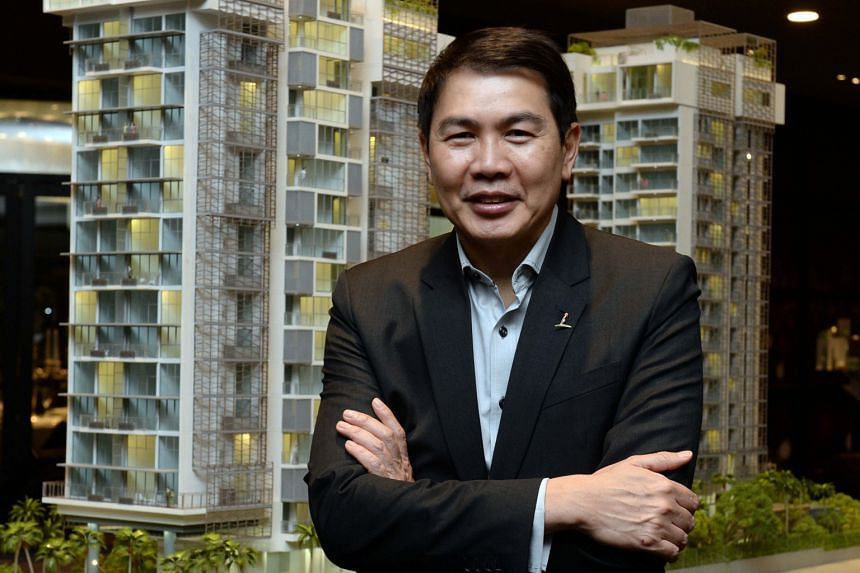 CapitaLand president Lim Ming Yan, a former civil servant, chose real estate as a second career because he was drawn towards putting real estate - a capital-intensive business - and capital markets together.