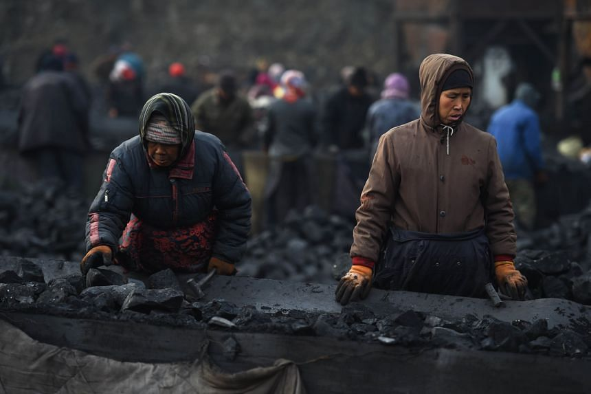 For decades, coal has been the backbone of millions of miners, like these people in China. But they are likely to be hit hard because of the Paris climate pact, in which 195 countries pledged to steer away from fossil fuels.