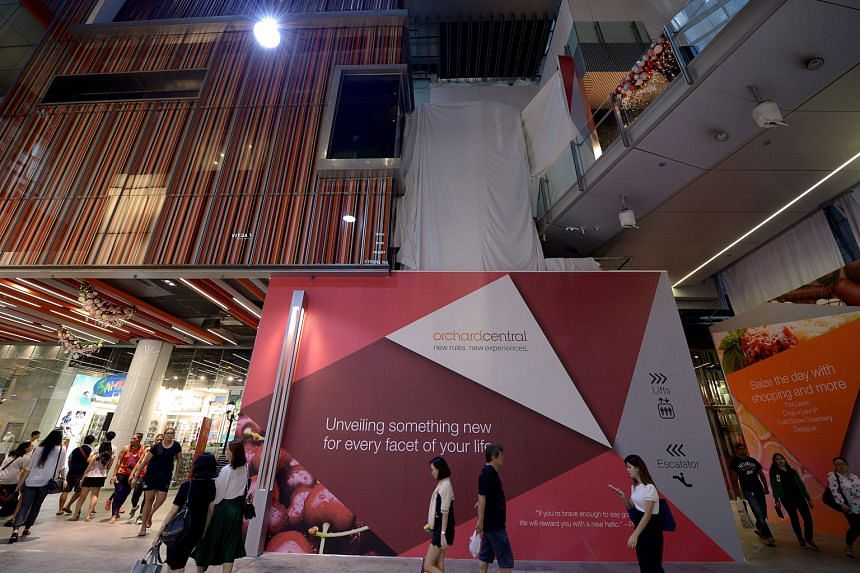 Orchard Central's first major renovation since its opening six years ago will introduce new escalators and reconfigured walkways in the 11-storey mall, said Far East Organization, which owns the mall.