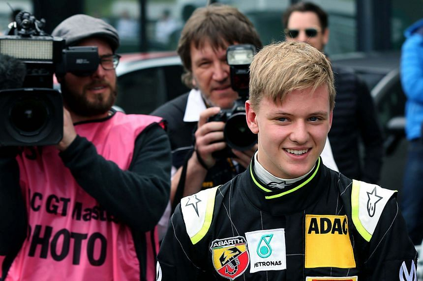Mick Schumacher, 16, has faced intense media scrutiny. There is tremendous pressure on him to live up to the family name.