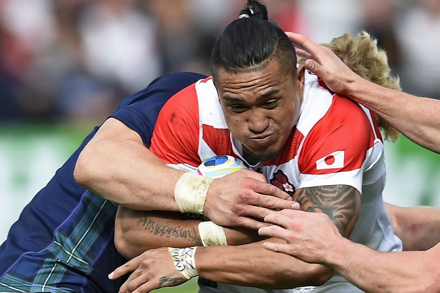 Male Sa'u has signed a one-year deal with the Auckland Blues. He is the fifth Japan international to sign for an overseas team for 2016.