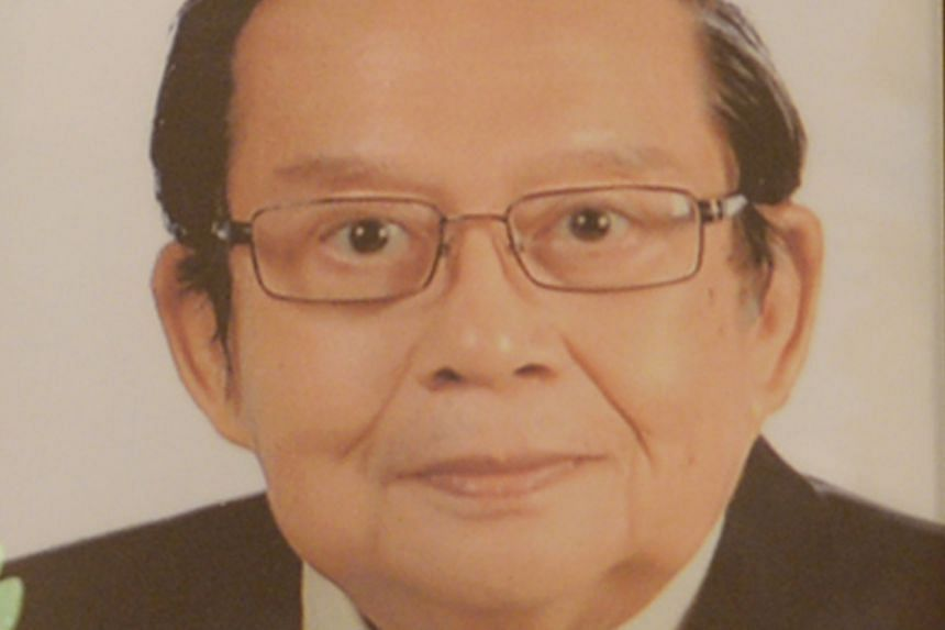 Prof Feng Pao Hsii founded Singapore's first rheumatology department at Tan Tock Seng Hospital in 1995.