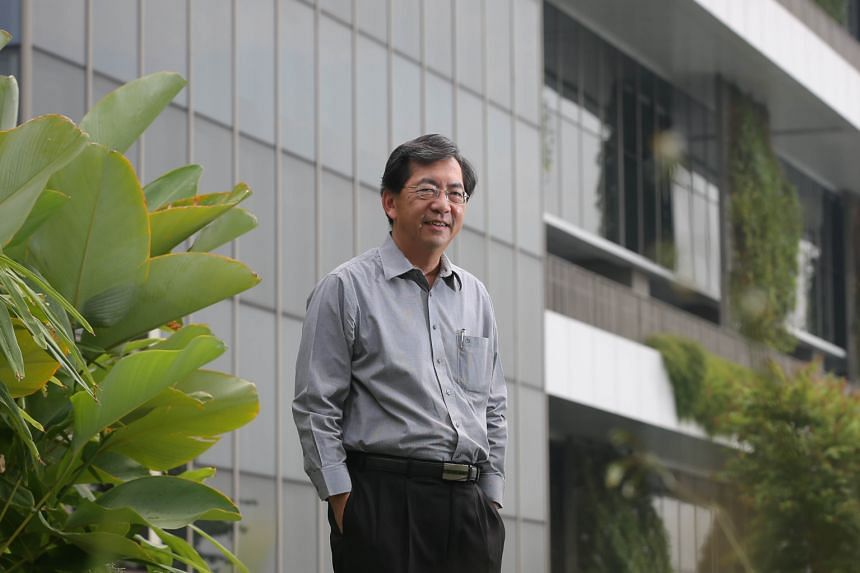 """Dr John Keung has been passionate about issues on environmental sustainability since his university days. He decided to push the green building movement in Singapore in a """"big way"""" when he became the chief of BCA in 2006."""