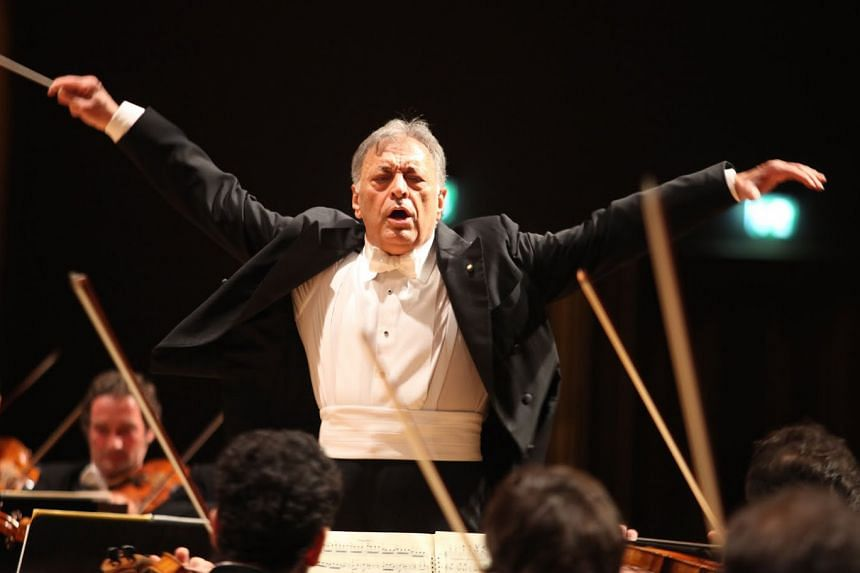 Music director Zubin Mehta (above) has led the Israel Philharmonic Orchestra for more than 45 years.