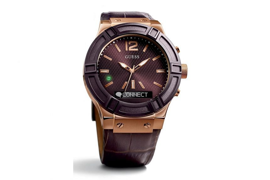 The Guess Connect is available in four models and two sizes: 41mm and 45mm.