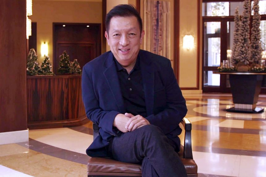 Peter Lim during the interview with the Valencia website. The owner is happy that he has brought financial stability to the club.