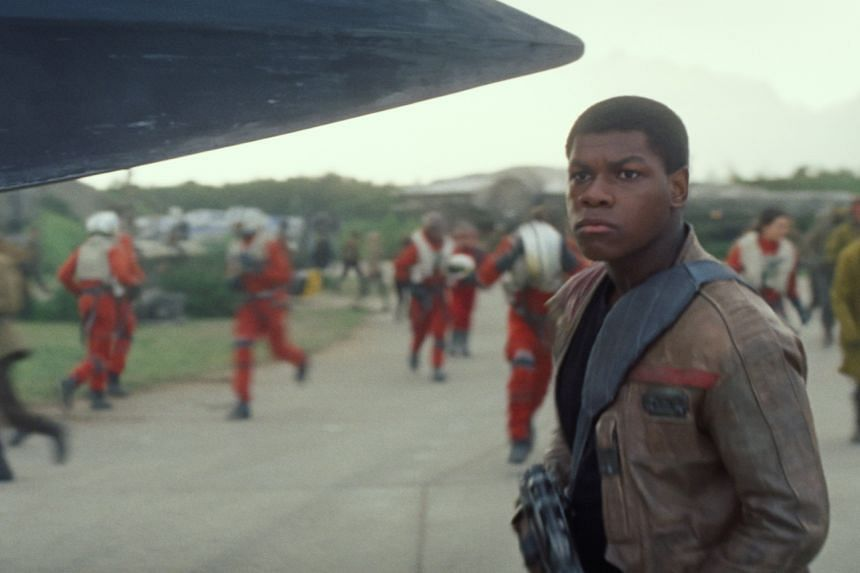 Having a non-white male protagonist, John Boyega as Finn, in Star Wars: The Force Awakens is refreshing.