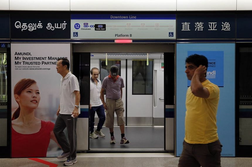 The LTA put up new Tamil names for the Promenade, Downtown, Telok Ayer and Cashew MRT stations on the Downtown Line after it reviewed all the translations of the line's station names following commuter feedback that the Tan Kah Kee station was inaccu