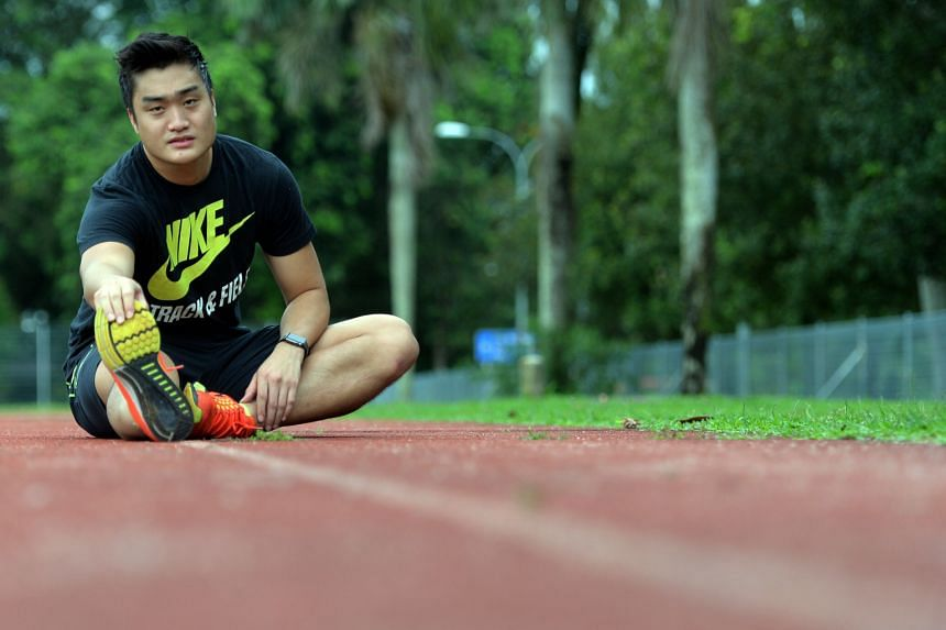 Stefan Tseng, 25, narrowly missed a bronze medal at the 2007 World Youth Championships, two years before he became the first Singaporean male to surpass the 16m milestone. But a medical condition that affects his vertebra is part of the reason he has