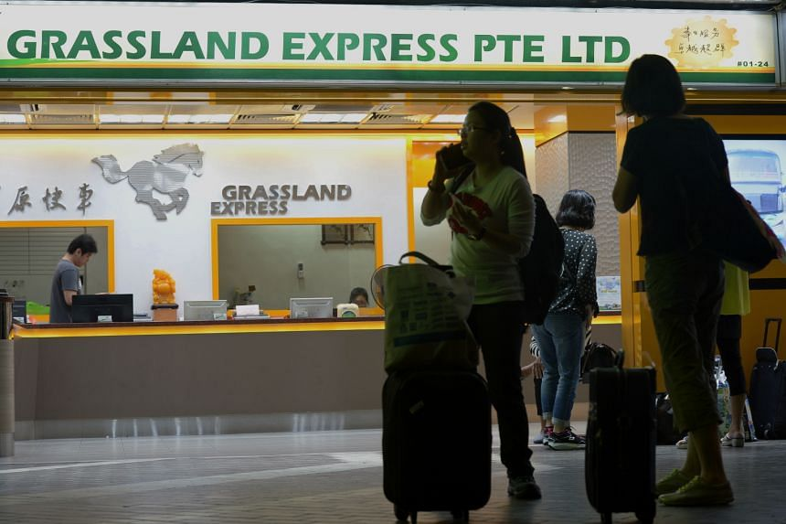 Coach tickets to Malaysia on Feb 5 and 6 have been snapped up at companies here, including Sri Maju and Grassland Express and Tours. Popular destinations include Kuala Lumpur, Genting, and Malacca.