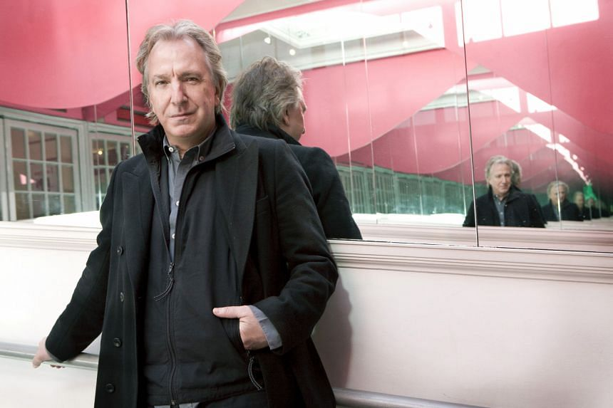 Alan Rickman in the Tricycle theatre in London in 2010.