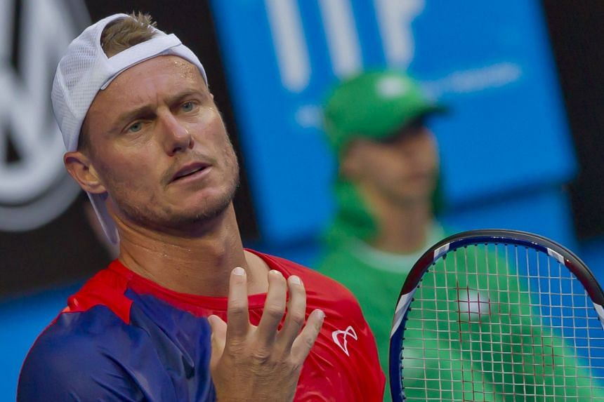 Lleyton Hewitt, seen here during the Hopman Cup mixed-team event earlier this month in Perth, is poised for an emotional swansong at the Australian Open.