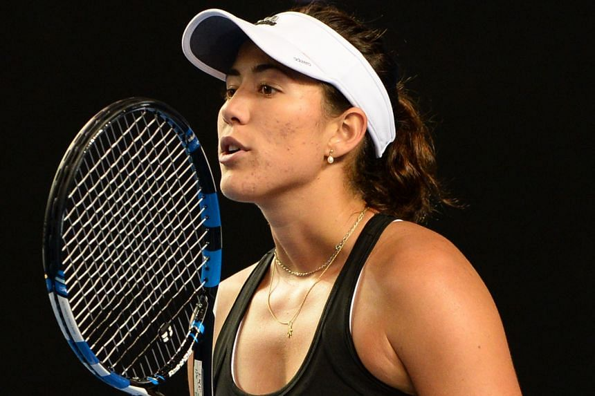 Garbine Muguruza is not succumbing to the pressure of the high expectations put on her but instead is learning to accept it and live up to her potential.