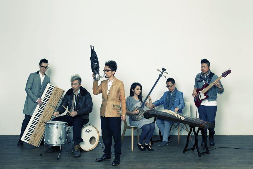 HongKong fusion band SIU2.