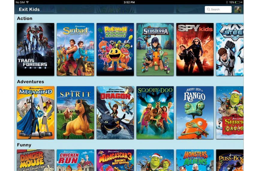 A screenshot of Netflix movies for kids. Netflix's cheapest Basic plan offers only one standard definition stream, and if your TV is larger than 40 inches, you will see artefacts. The Standard plan offers high- definition streaming, as well as the ab