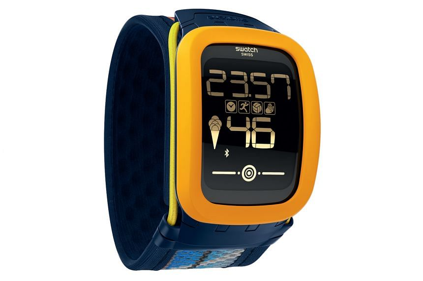 The Touch Zero One is a fitness watch aimed at beach volleyball players, from beginners to professionals. It is able to measure the power of smashes and number of hits.