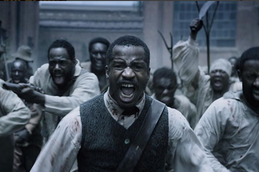 The distribution rights to The Birth Of A Nation, directed by and starring Nate Parker (above centre), were sold to Fox Searchlight for $25 million.