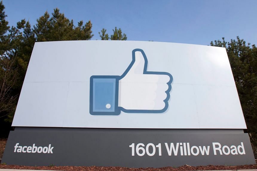 Facebook's headquarters in Menlo Park, California. Fourth-quarter sales for the company rose to US$5.84 billion (S$8.34 billion). About 80 per cent of that came from mobile devices.