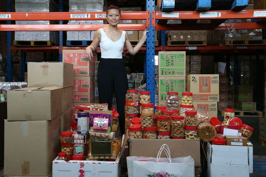 """Ms Ng said the condition of some of last year's collection of Chinese New Year goodies was """"really bad"""", such as resealed, half-consumed jars of love letters. She urged donors to respect the beneficiaries."""