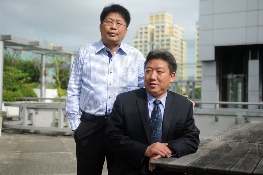 Mr Lawrence (left), executive chairman and president of Wilton Resources, and Mr Wang, chairman of Yunnan Chihong, have signed a framework agreement to build a mining, processing and smelting facility at the prospect area in Sukabumi regency, West Ja
