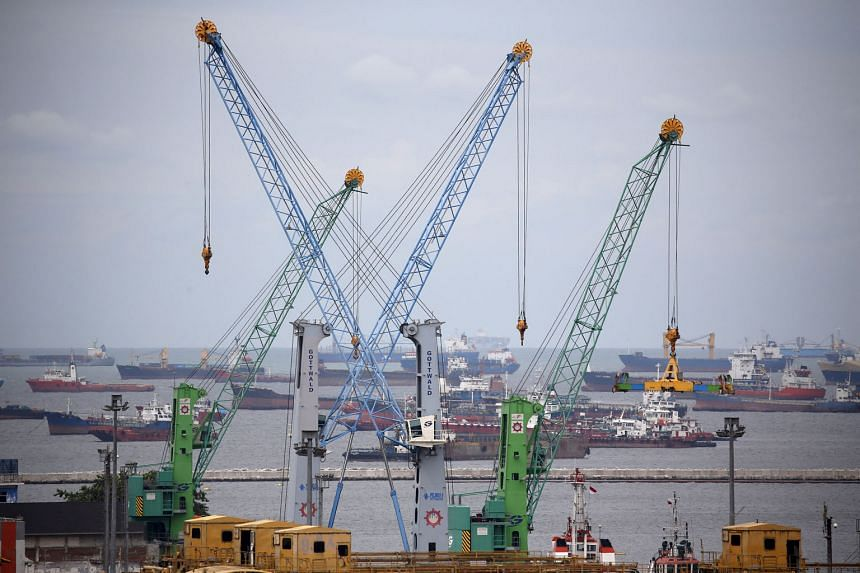 Tanjung Priok port in Jakarta, Indonesia's largest sea port, currently handles about 6.5 million containers a year.