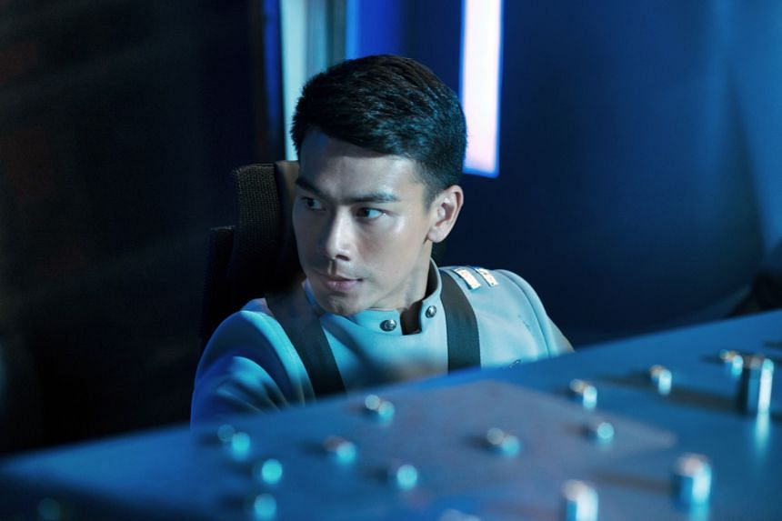 """""""My co-pilot role may not have many scenes, but it is a character that has been fleshed out. It's China's first sci-fi production and we are working with a Hollywood production team."""" — DAI XIANGYU, on his English-speaking role as an arrogant b"""