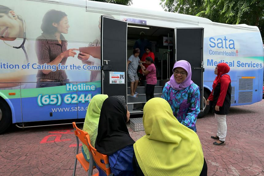 Needy and elderly residents in Marsiling now have a chest X-ray facility closer to their doorstep. The facility, housed in a bus parked near the Sunlove Seniors Activity Centre at Block 3 Marsiling Road, was set up yesterday as part of the centre's C