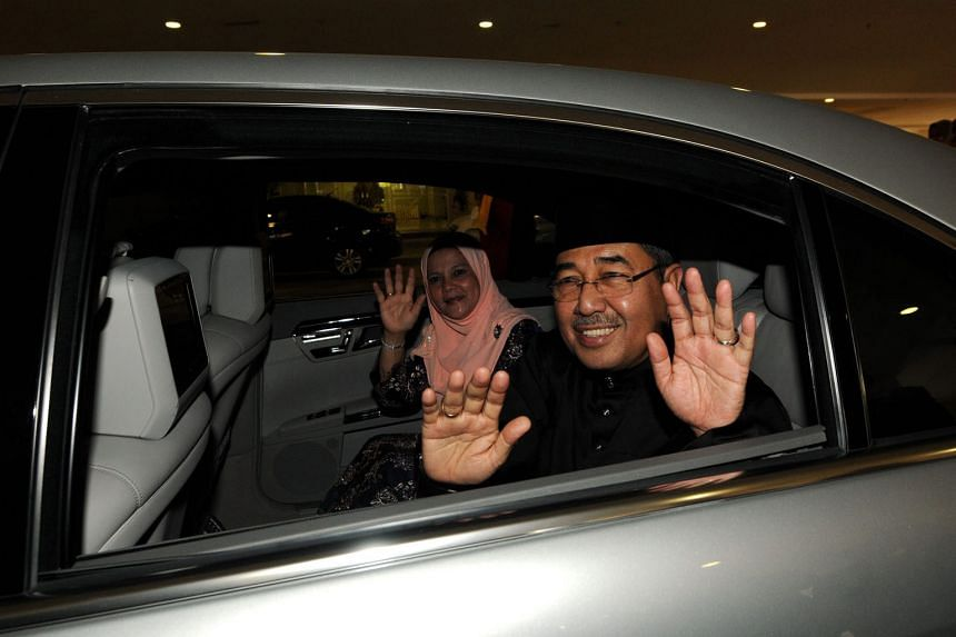 Umno figures have defended the appointment of Datuk Seri Ahmad Bashah, seen here with his wife, citing attributes such as his vast experience in politics and connections to the federal government.