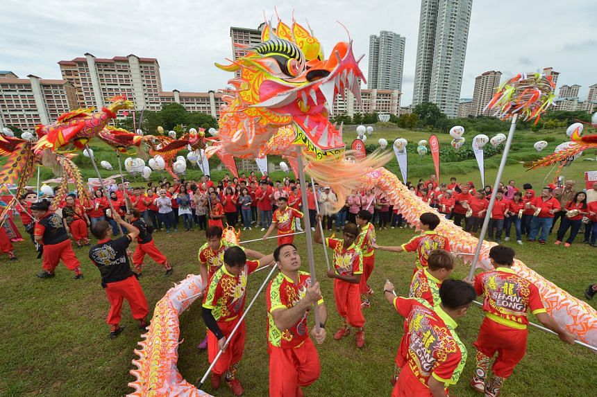 A multiracial dragon dance is among the performances at the Chingay Night Fiesta, which will be held at the Bishan-Ang Mo Kio Park on Feb 21 from 6.30pm to 10pm. Admission is free.