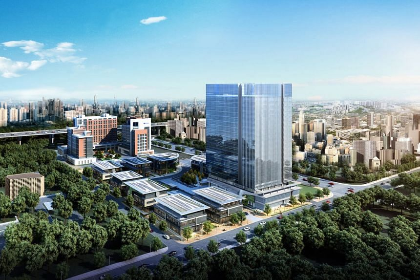 A Shanghai project bought by Mapletree Greater China Commercial Trust, which is among DBS analysts' top picks.