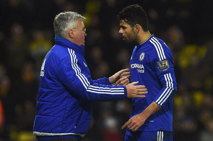 Chelsea have enough problems of their own, with Guus Hiddink overseeing a 0-0 draw at Watford on Wednesday. Diego Costa was lucky to escape a red card despite several run-ins with the opposition.