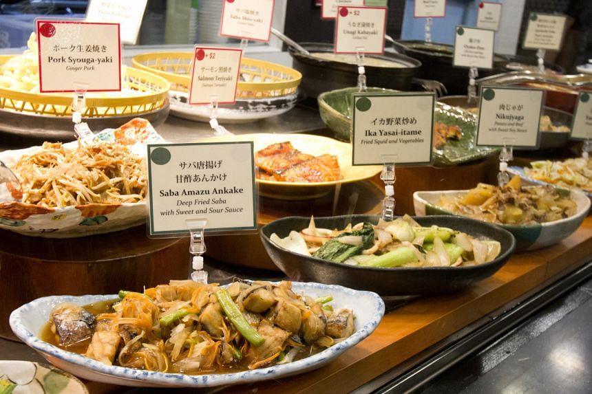 The daily menu at Wasai-Ya features more than 20 dishes.