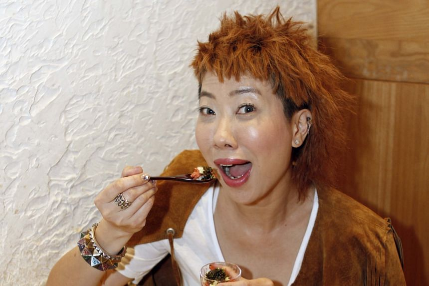 """Actress-host Patricia Mok says her signature dishes include her """"legendary"""" stir-fried clams with basil and oregano."""