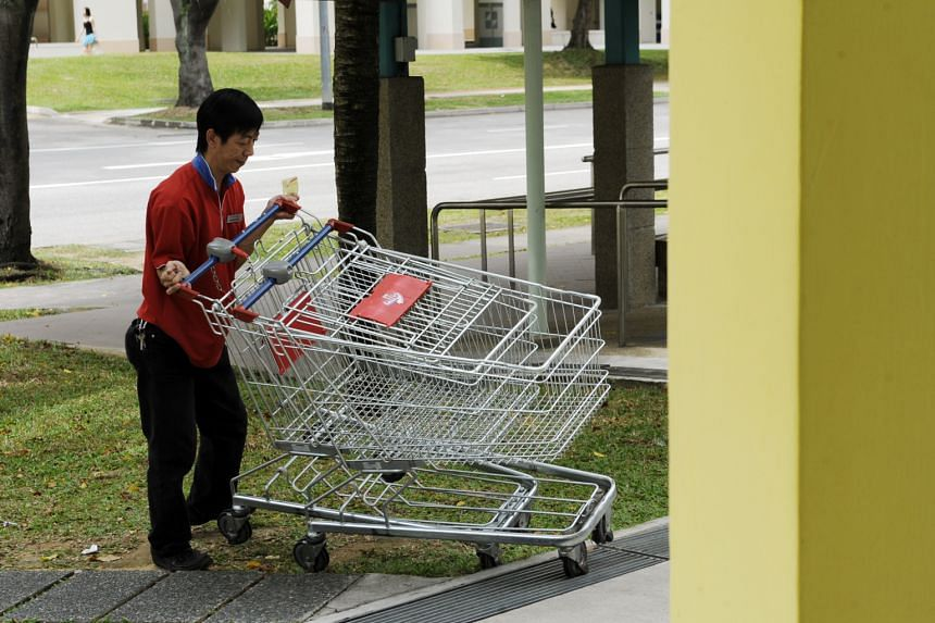 Dr V. Subramaniam says that technology should be harnessed to track the location of abandoned supermarket trolleys.