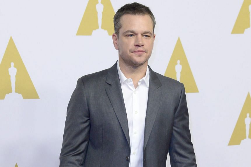 Nominees at the Academy Awards luncheon on Monday included Alicia Vikander, Sylvester Stallone, Matt Damon (above) and Rooney Mara.