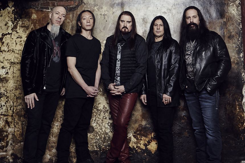 Dream Theater comprise (from left) Jordan Rudess, John Myung, James LaBrie, Mike Mangini and John Petrucci.